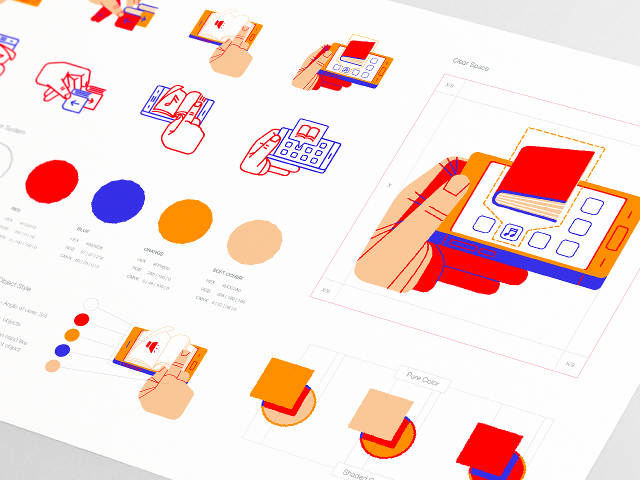 Pin By G M On Illustration Style Guide Design Style Guides Design