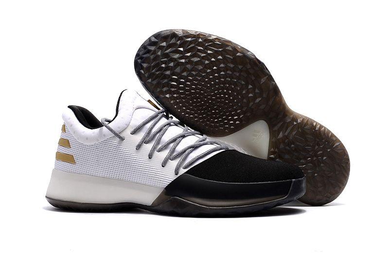adidas Harden Vol. 1 White Black Shoes