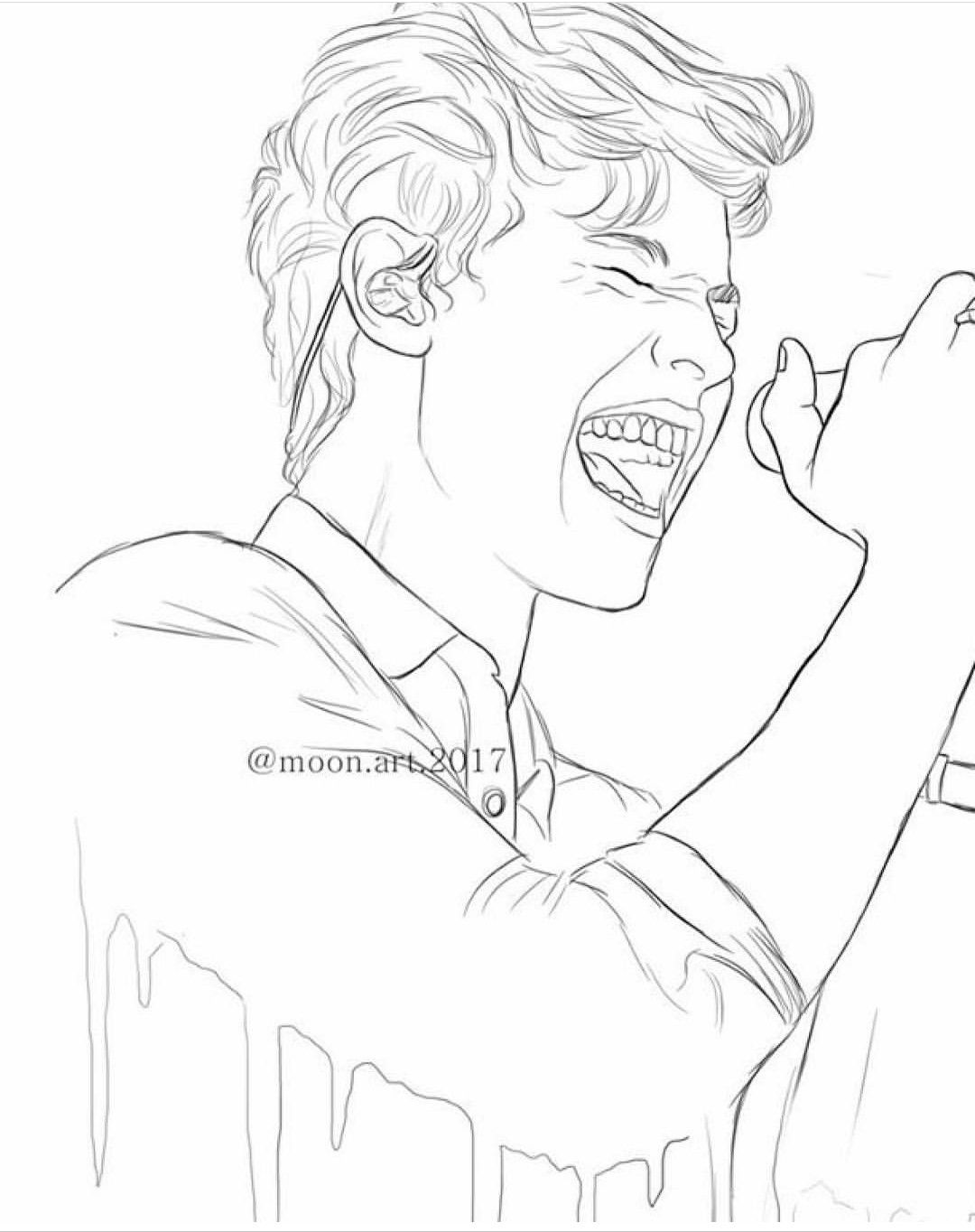 Pin By Creative Ideas On Shawn Mendes Art Sketches Selena Gomez Drawing Drawings