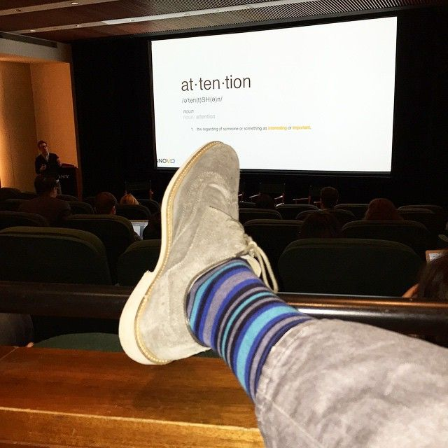 Earn Attention, Don't Demand It. Perfectly stated by @Chalozin. #RonR #tedsockie
