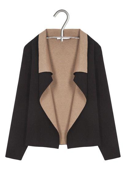 Gilet col châle Marron by GERARD DAREL   Mode   fashion   Pinterest ... c137f3df280