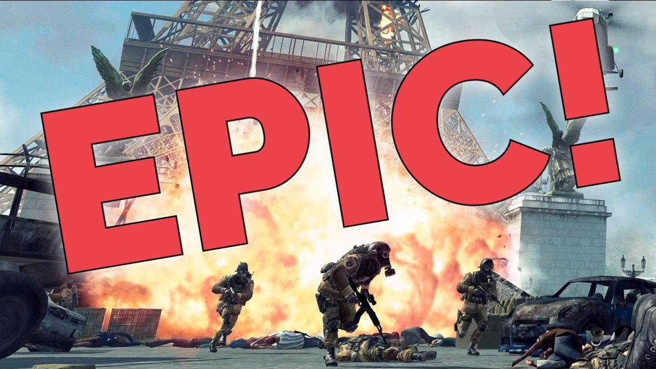 EPIC Paris battle Youtube thumbnail, Youtube, Cool posters