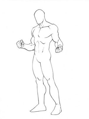 Figure Template By Sillymushr00m Drawings Character Drawing Drawing Templates