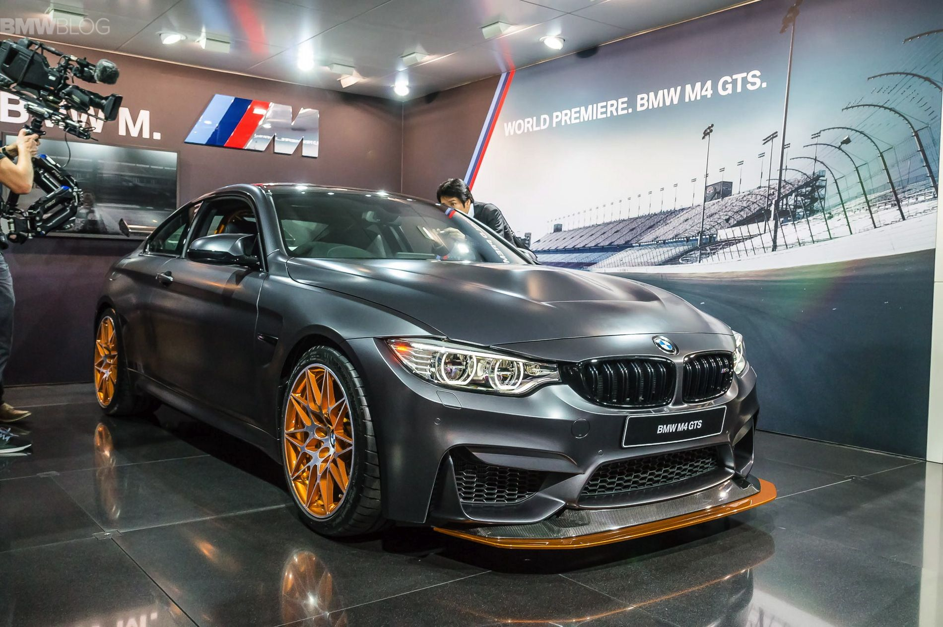 BMW Builds Only Five M4 GTS Models Per Day   Http://www.bmwblog.com/2015 /12/28/bmw Builds Only Five M4 Gts Models Per Day/