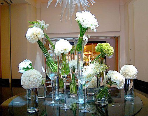 White Wedding Floral Decor | King Florist