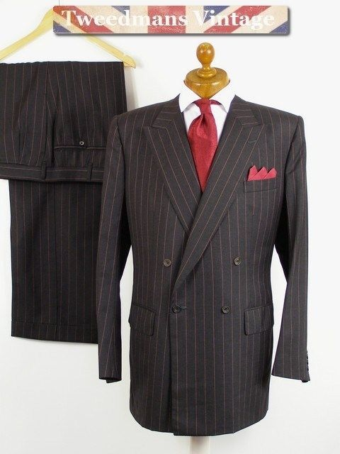 Double breasted Savile Row Bespoke Suit | Suits | Pinterest | Savile ...