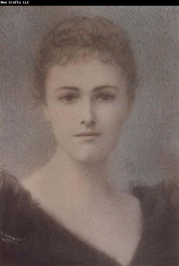 Fernand Khnopff Portrait of Princess Theodule de Grammont-croy