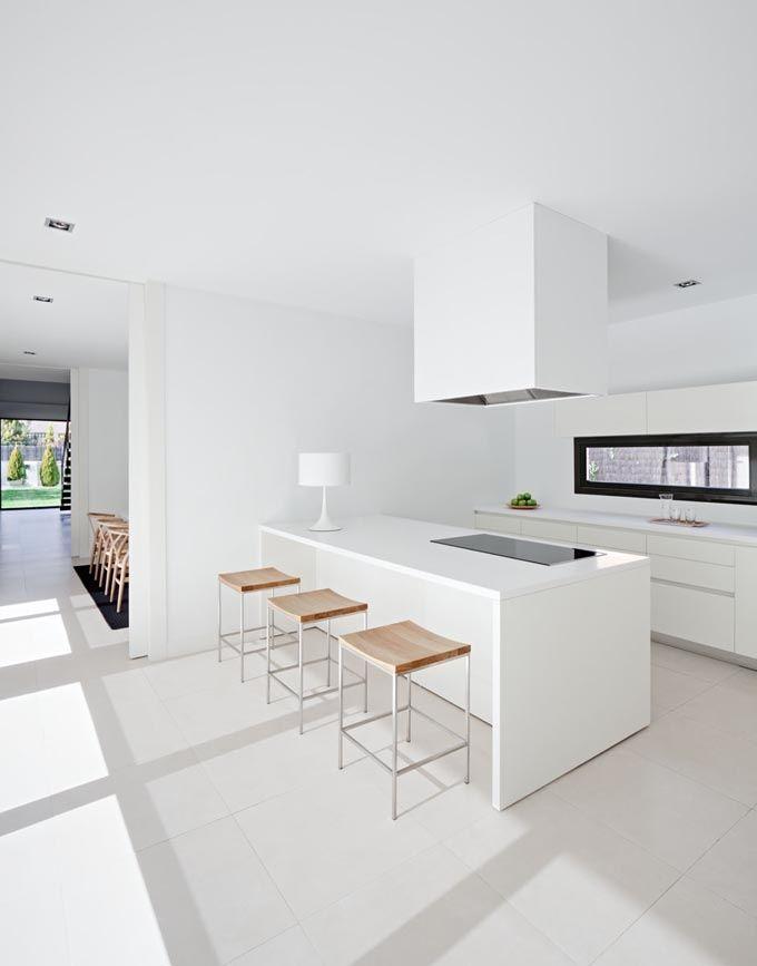35 cuisines design voir absolument home pinterest moderne k che minimalistische. Black Bedroom Furniture Sets. Home Design Ideas