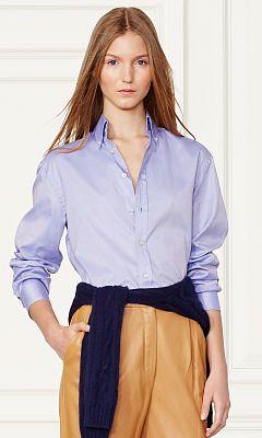Cameron Cotton Oxford Shirt - Collection Apparel Long-Sleeve - RalphLauren.com
