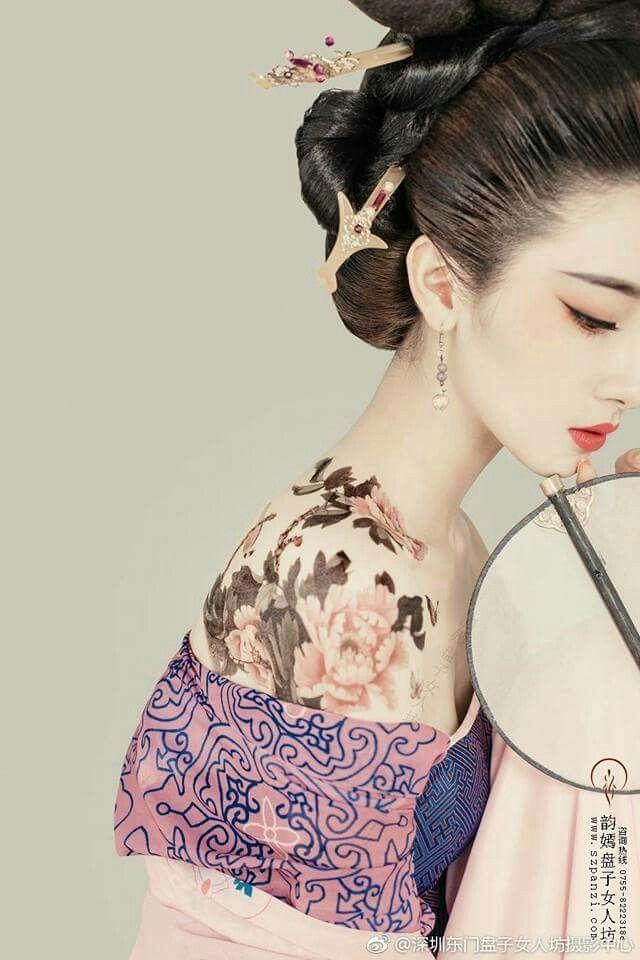 kinesisk makeup
