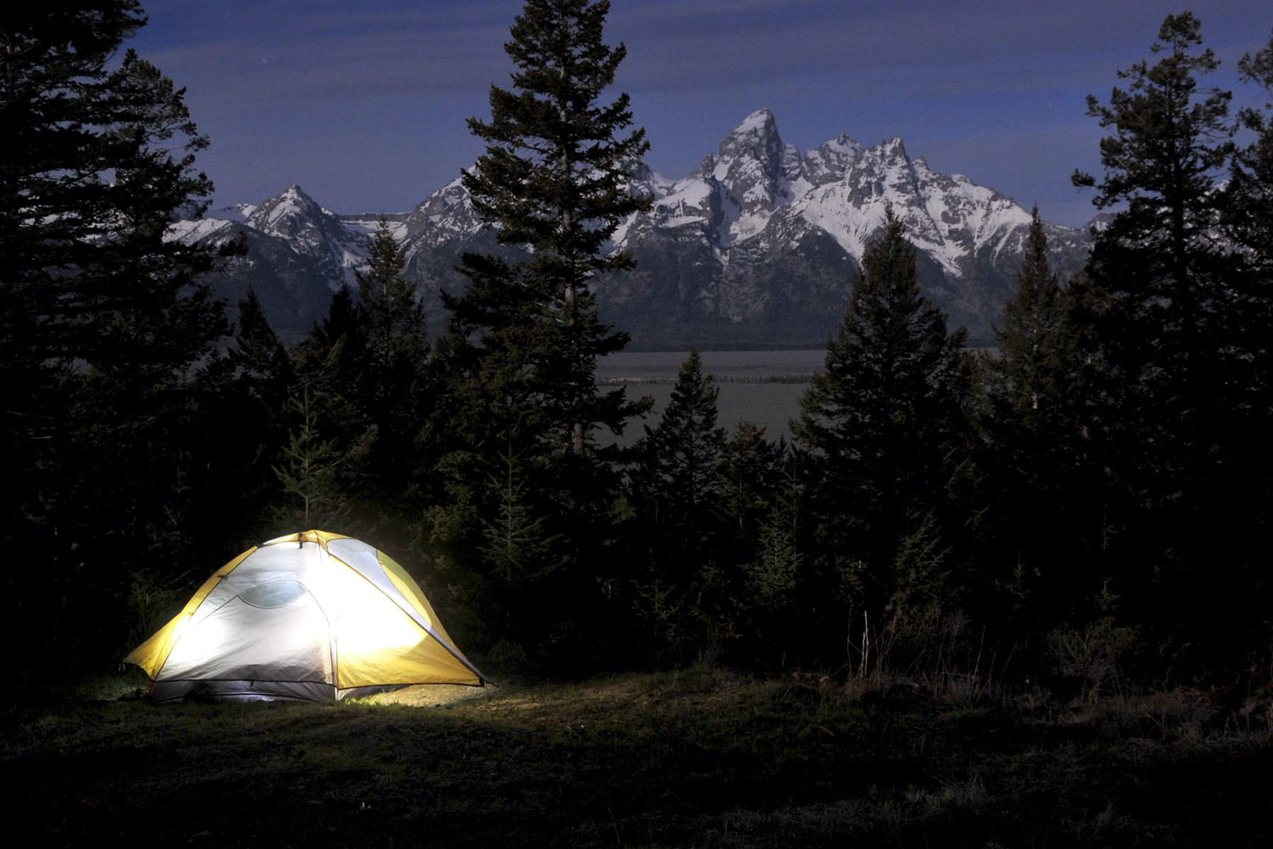 Camping in the Great Outdoors! Shadow Mountain, WY ...