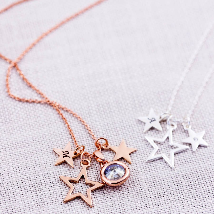 Design your own star necklace star necklace star and shoe bag design your own star necklace aloadofball Choice Image