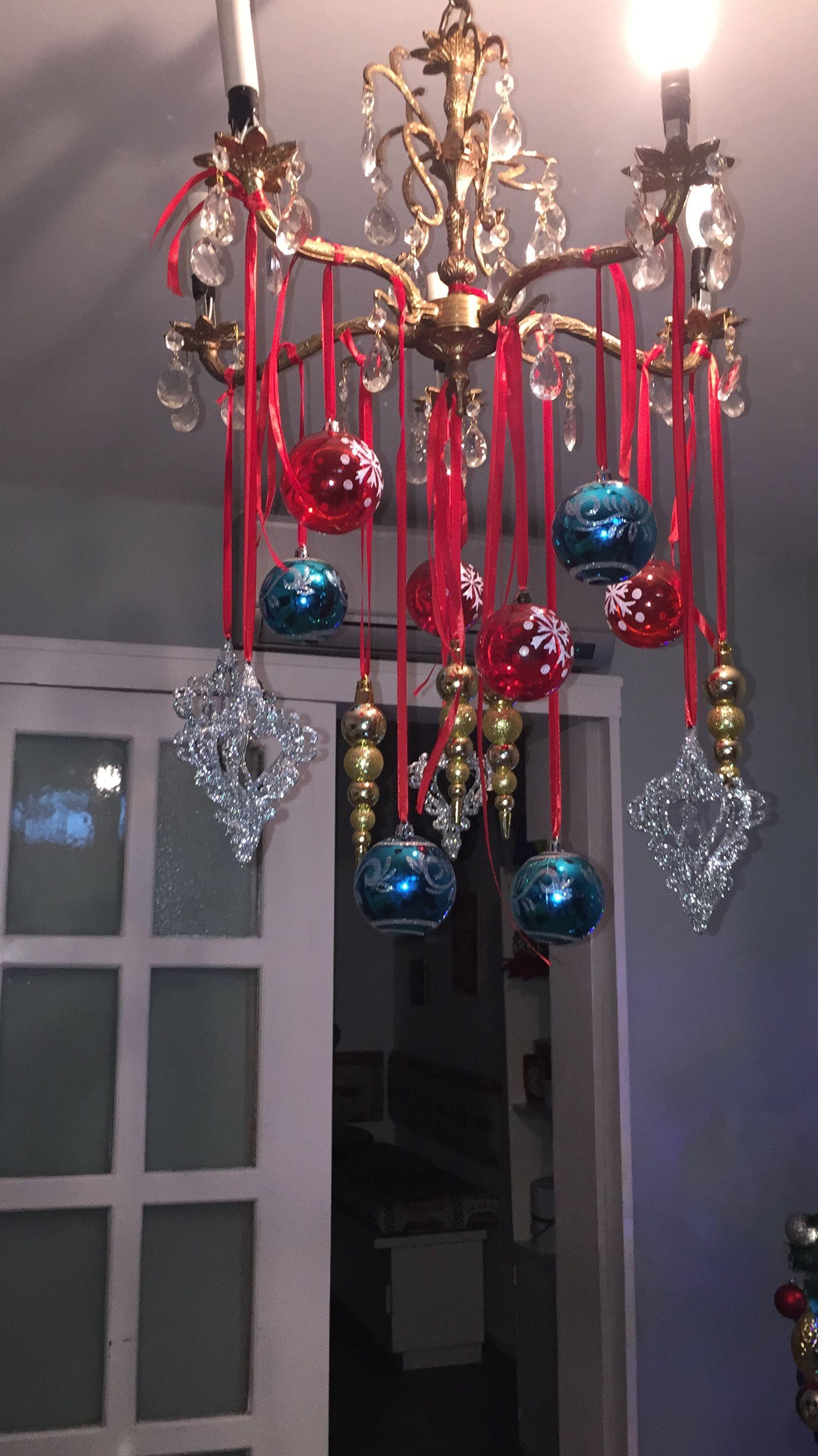 Adornos navideños lamparas