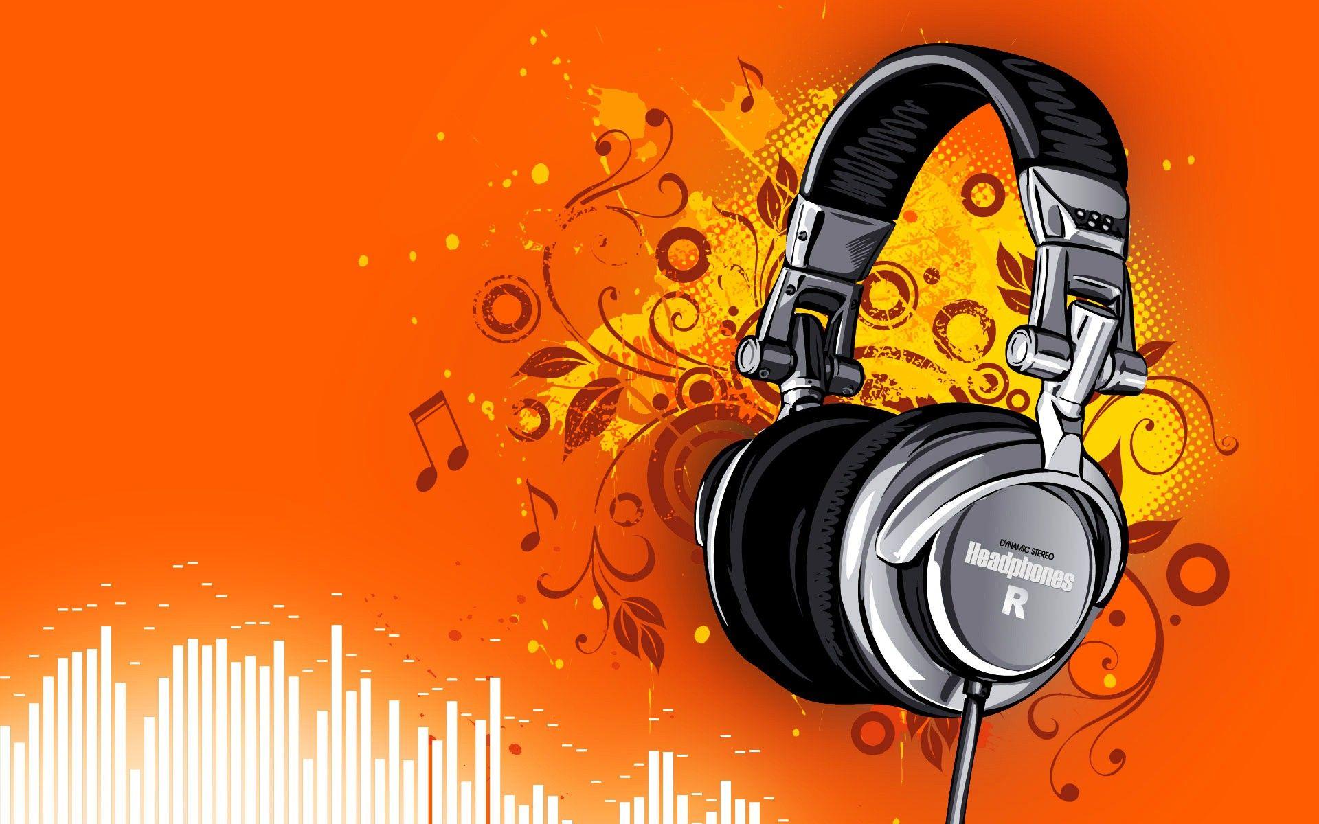 Headphones Wallpaper Abstract For Desktop Background 13 Hd