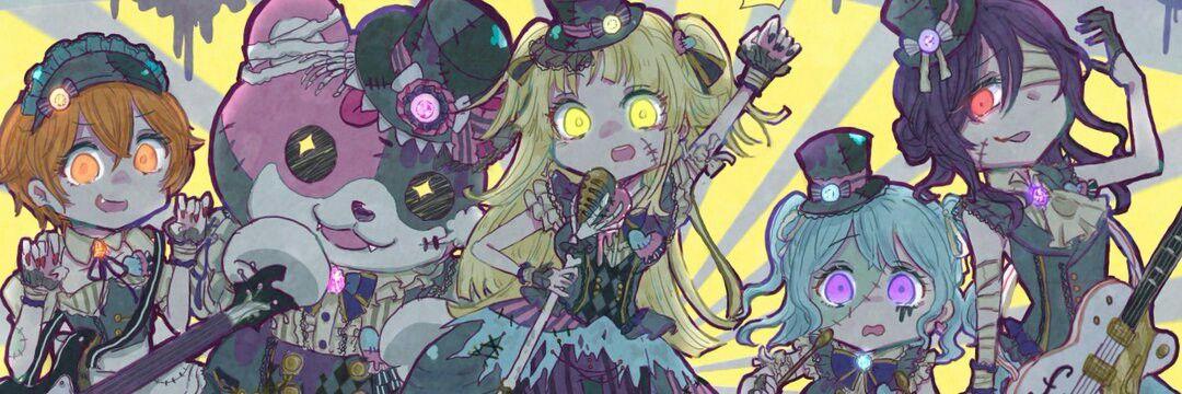 Hello, Scary World! yusodium0x イラスト, キャラクターデザイン, バンドリ
