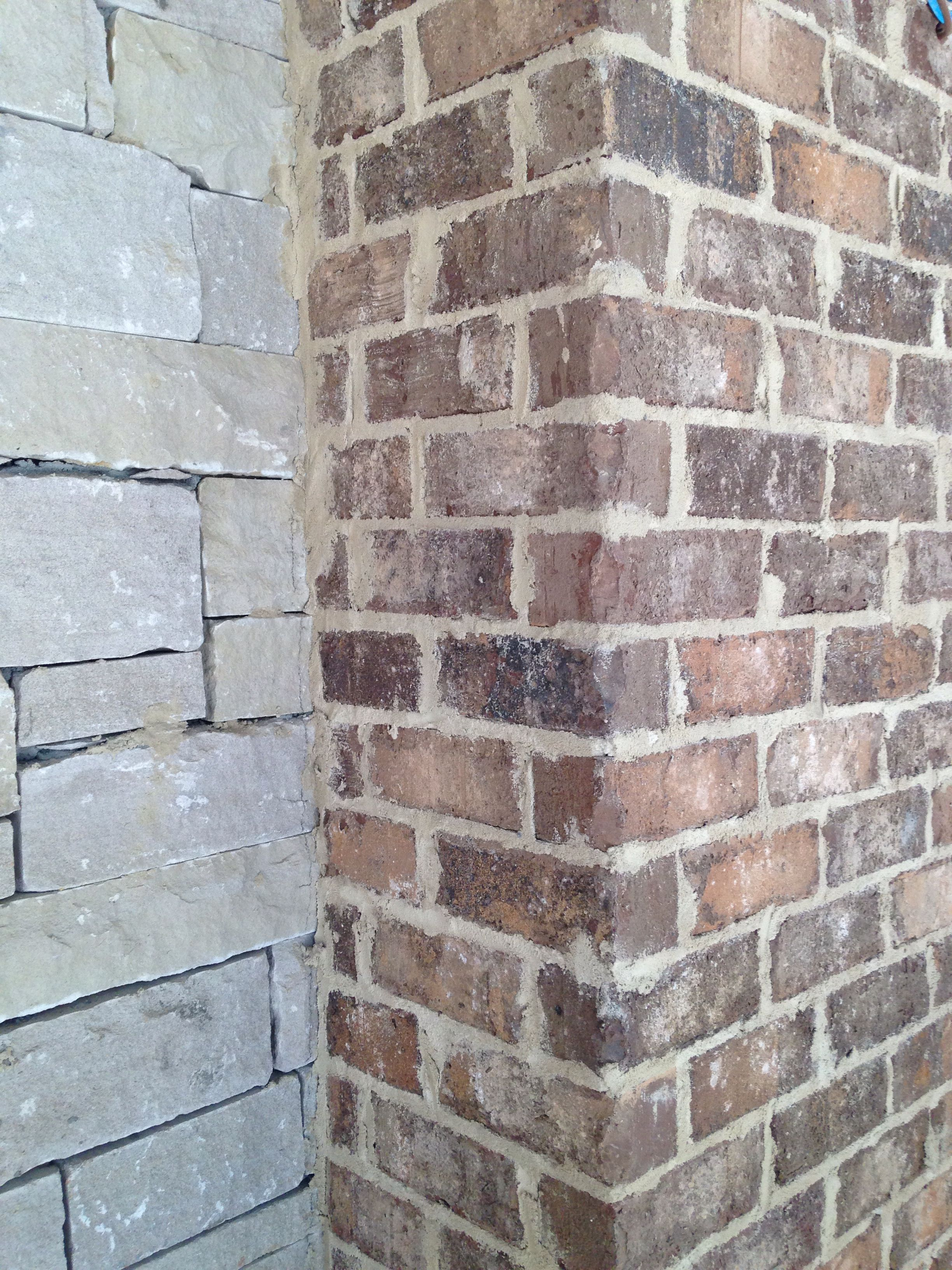 Kiawah Brick Anti Buff Mortar Brick Close Ups Brick