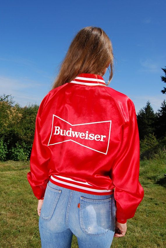 f9f4c965321 80's BUDWEISER Jacket Vintage Starter Jacket | Shiny Red Satin Jacket |  Ringer Tee | Red Track Jacket | Racing Jacket | Budweiser Shirt by  SurfandtheCity, ...