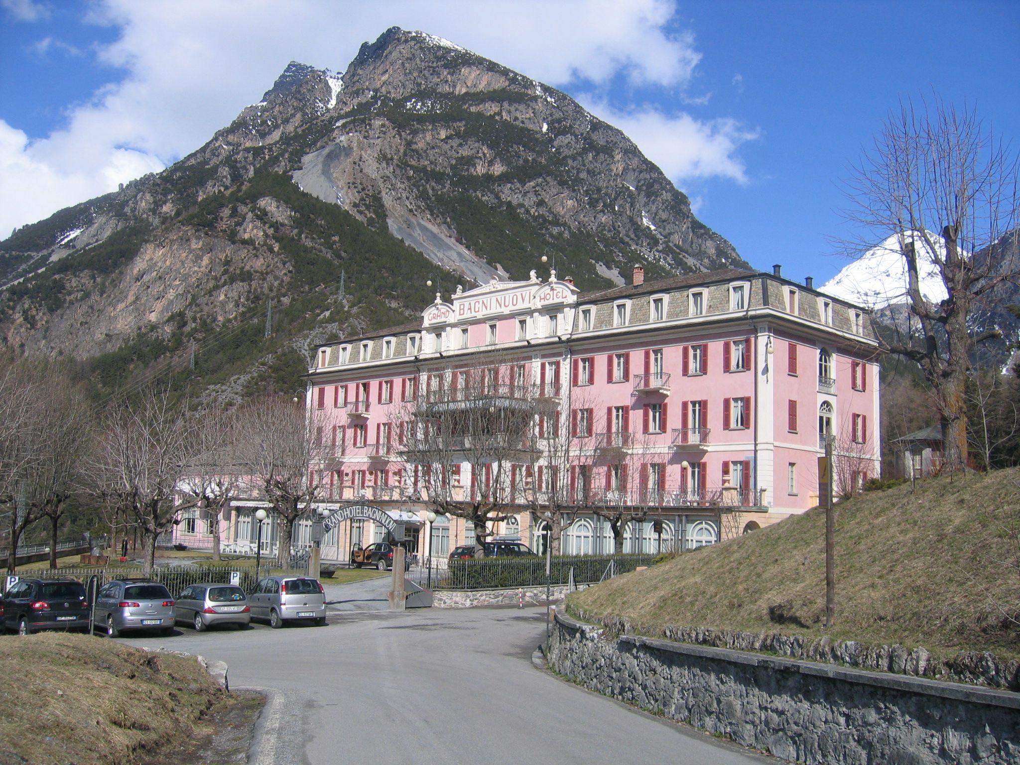 Grand Hotel Bagni Nuovi Di Bormio Hotel Tapparelle Esterno