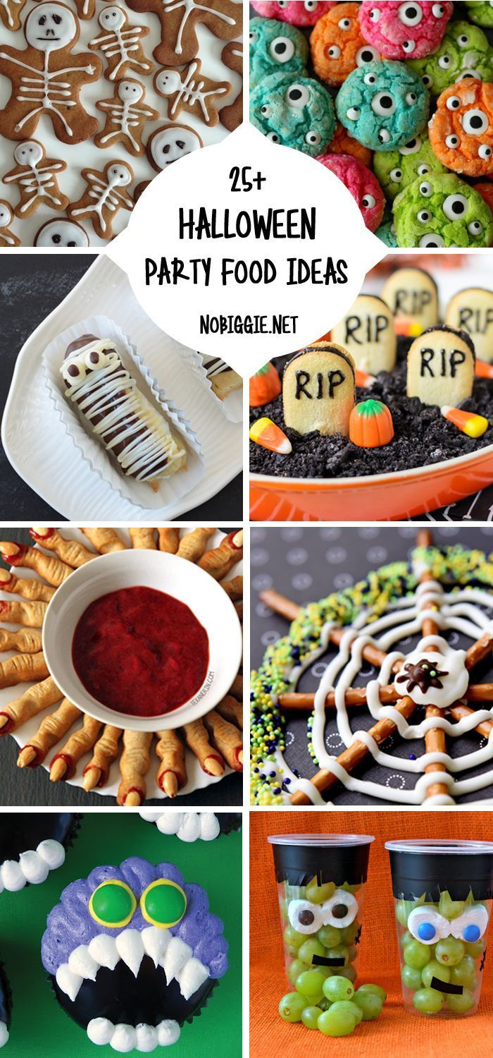 25+ Halloween Party Food Ideas Halloween food for party