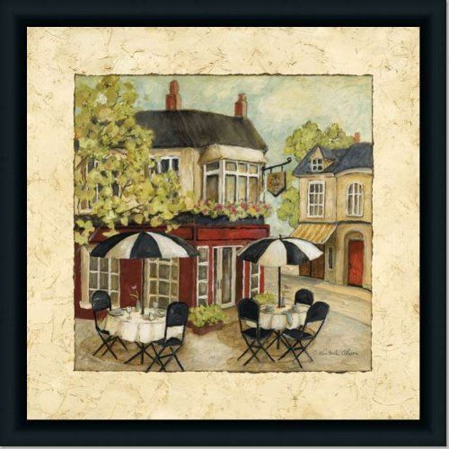 Cafe French Country Kitchen Decor I Art Print Framed by Framed Art ...