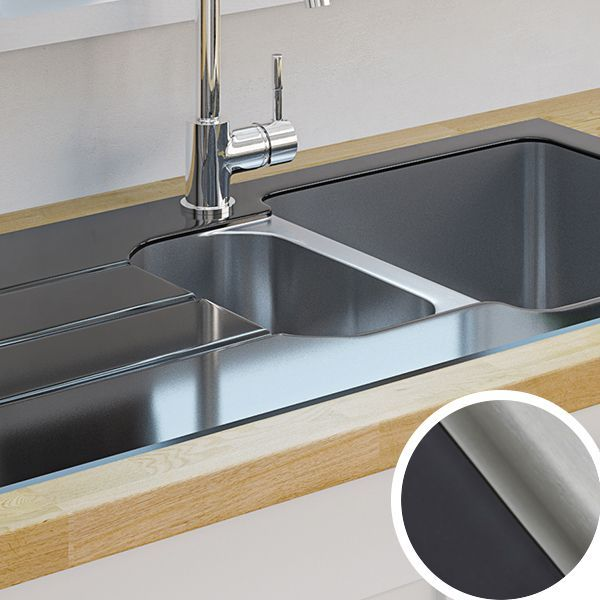 Kitchen Sinks Metal Ceramic Kitchen Sinks Diy At B Q Diy At B Q Ceramic Kitchen Sinks Kitchen Sink Diy Ceramic Kitchen