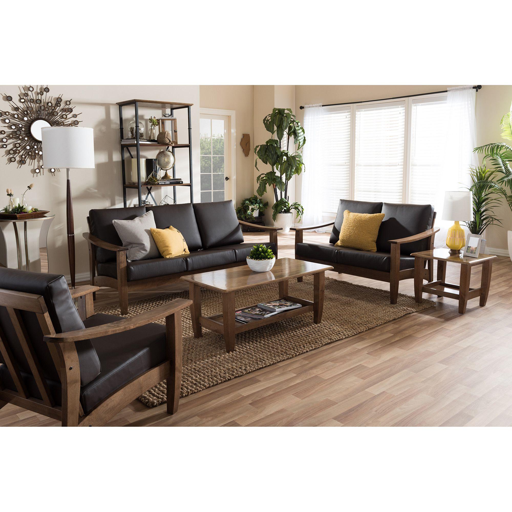 Best Ahart Arm Chair 5 Piece Living Room Set 5 Piece Living 400 x 300