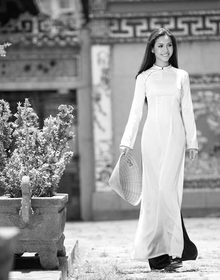 Vu Hoang My | Vietnamese costume - Ao dai | Pinterest