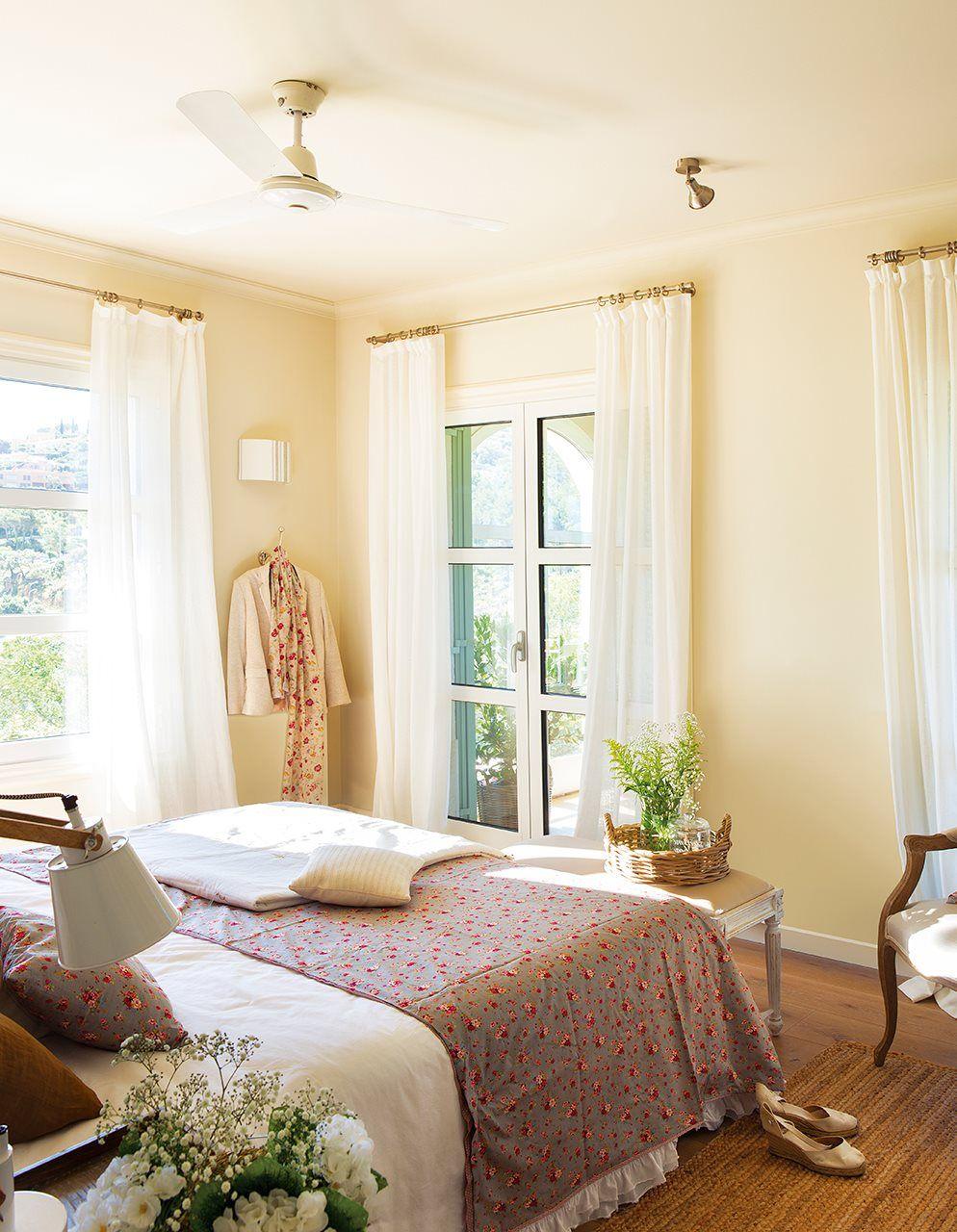 En el dormitorio alcoba decoraci n de unas cortinas dormitorio y cortinas - Decoracion cortinas dormitorio ...