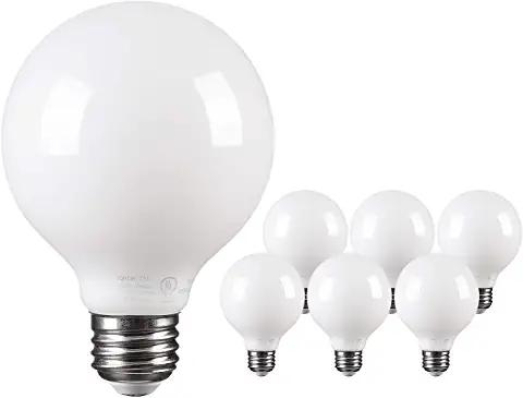 Amazon Com Modern Round Frosted Led Light Bulbs Globe Light Bulbs Led Light Bulbs Bulb