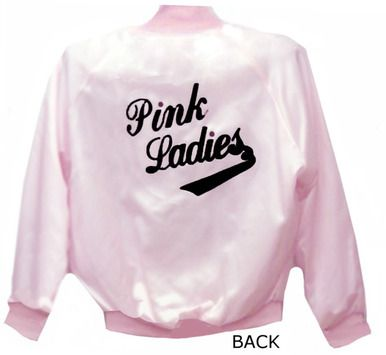 Pink Ladies Jacket-SATIN-MADE IN THE USA-Like in the Movie GREASE ...
