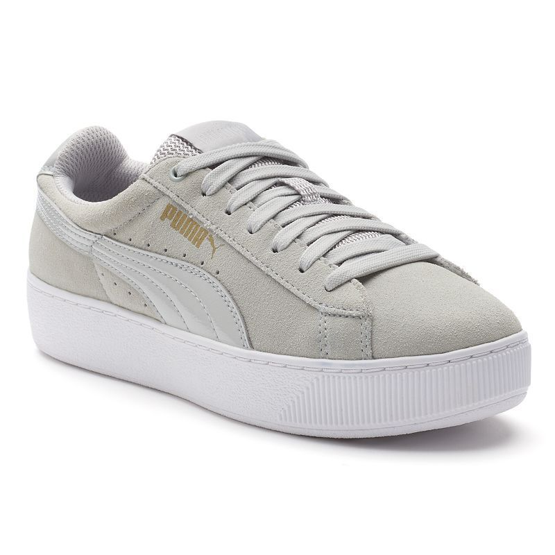PUMA Vikky Platform Women s Suede Shoes  ed98bb232