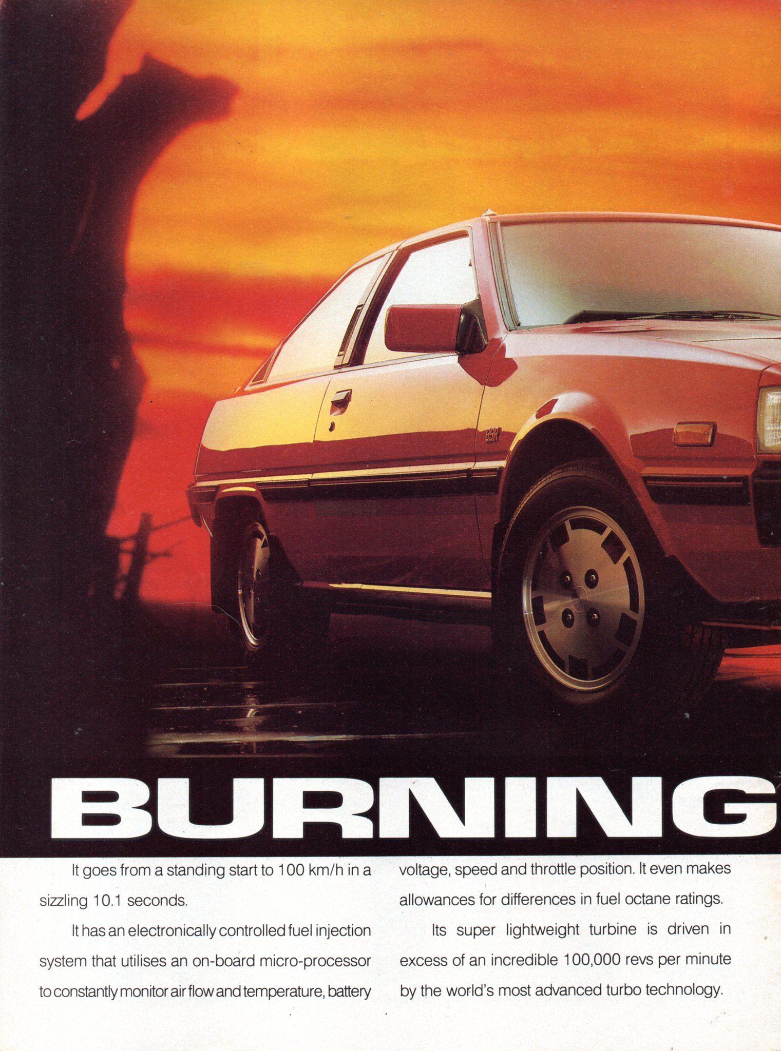 1987 Mitsubishi Cordia Hatchback Turbo Page 1 Aussie