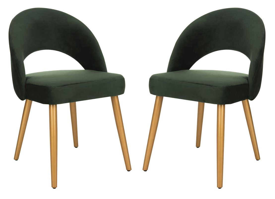 Elisabeth Retro Upholstered Dining Chair Dining Chairs