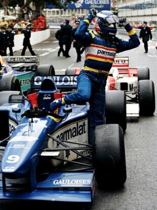 Olivier Panis - 1st Place 1996 Monaco Grand Prix