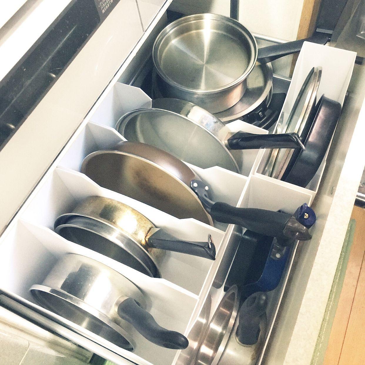 キッチン 収納 ニトリのインテリア実例 2017 01 21 09 31 52 Roomclip ルームクリップ ニトリ 収納 キッチン 台所の引き出し キッチン 収納 引き出し