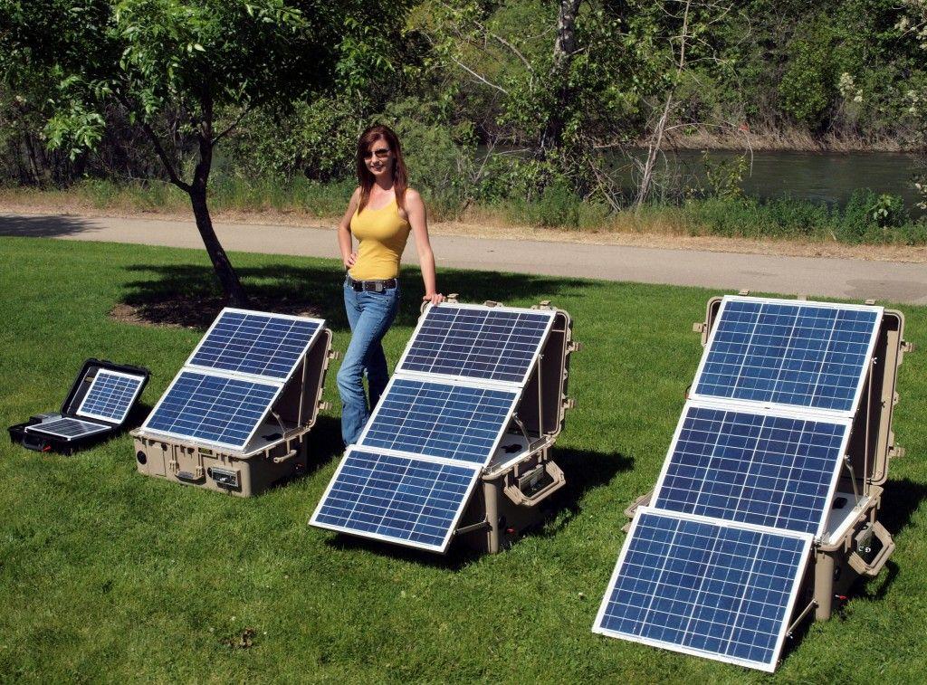 Portable Solar Power Systems Portable Solar Generator Solar Panels Solar
