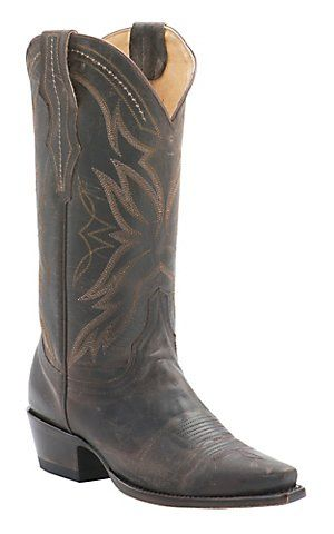 Cavender's by Old Gringo Women's Vintage Chocolate Goat Snip Toe Western Boots | Cavender's