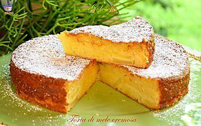 Torta di mele cremosa, a modo mio-ricetta fantastica!