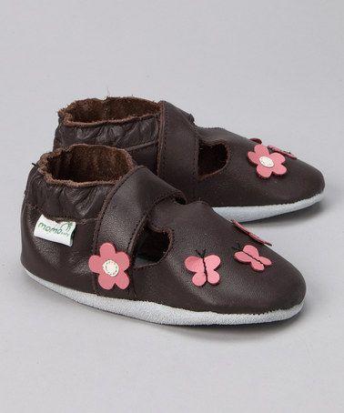 Take a look at this MOMO Baby Brown Daisy