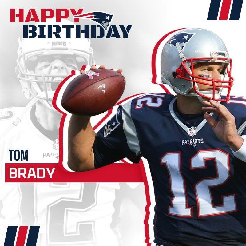 Happy Birthday Tom #GOAT #NEPats #LetsGo