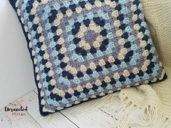 Lakeside Crochet Pillow Collection: Part 1 | Patrón de ganchillo ...