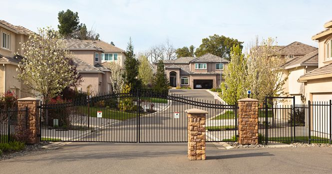 Gated Community Homes Demand Higher Prices Gated Community Community Housing Home Maintenance