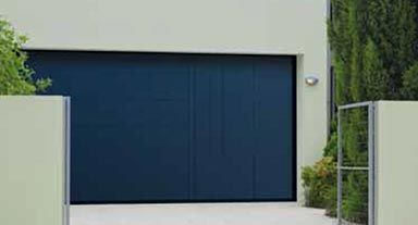 Trackless Garage Doors Available In A Range Of Finishes And Colours.