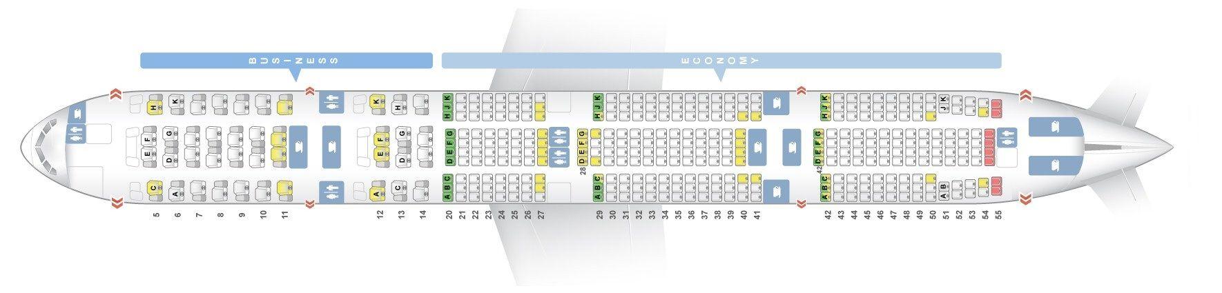 Etihad Airways Fleet Boeing 777 300er Details And Pictures Dengan