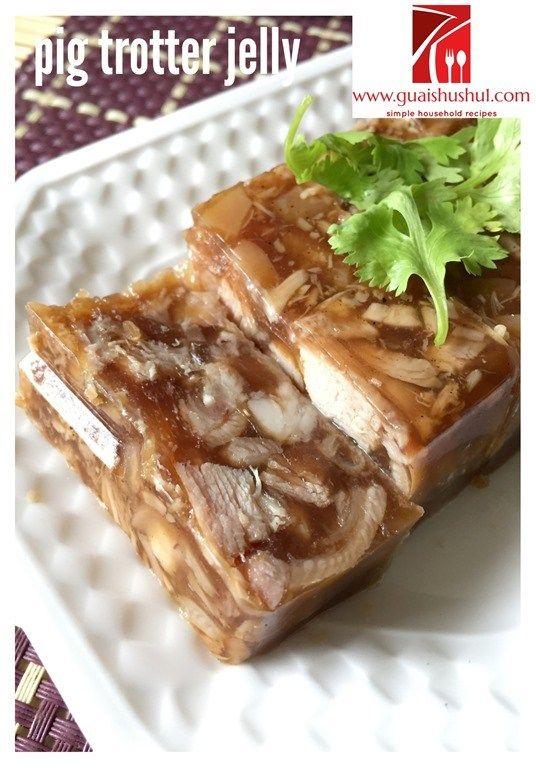 Chinese Chaozhou Appetizer: Pig Trotter Jelly aka Ter Ka