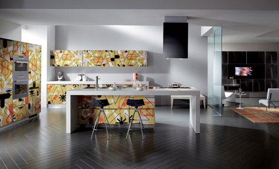 Dise o de cocinas cocinas modernas de karim rashid - Cocinas de diseno en madrid ...