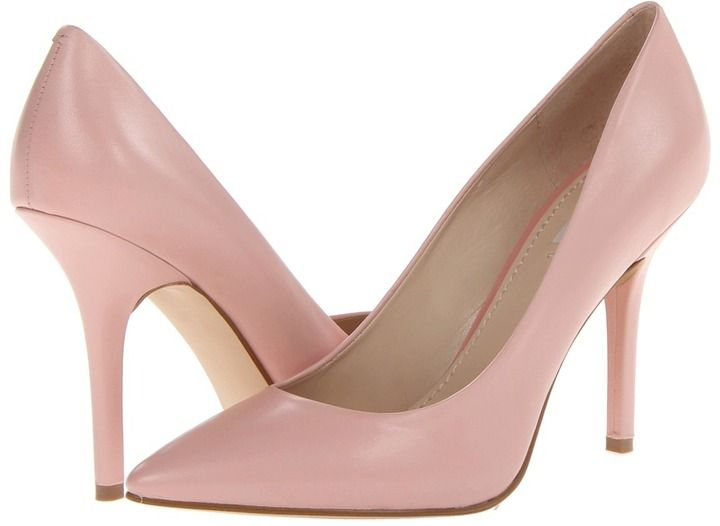 $99, Pink Leather Pumps: GUESS Plasmas. Sold by Zappos. Click for more