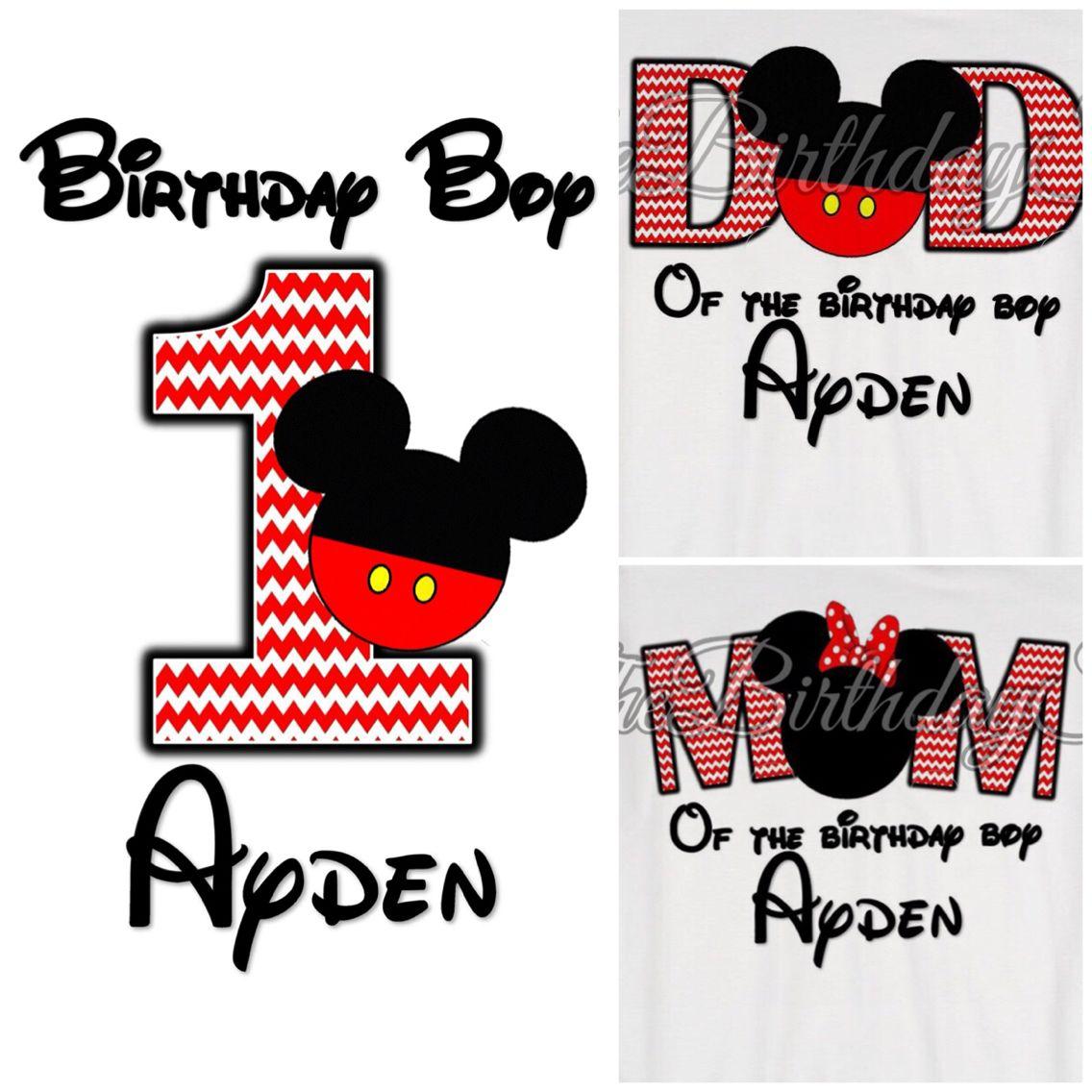 Matching shirts, Mickey Mouse, Minnie Mouse, Disneyland