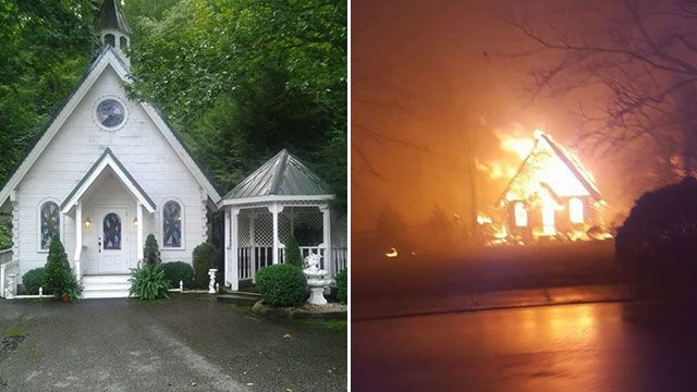 Cupids Chapel Of Love Brides Gatlinburg Wedding Cancelled After Is Destroyed