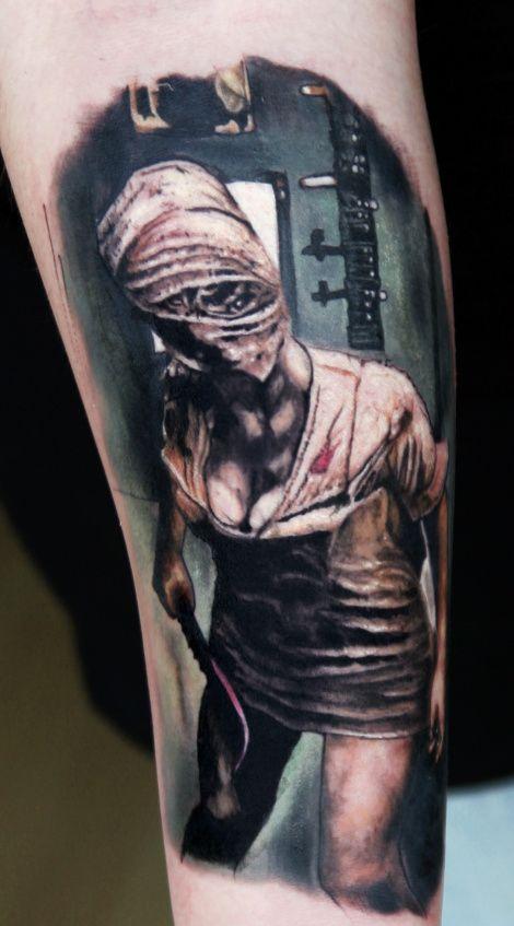 f68b64d56 silent hill print | Silent Hill Tattoos | Tattoos, Cool tattoos ...